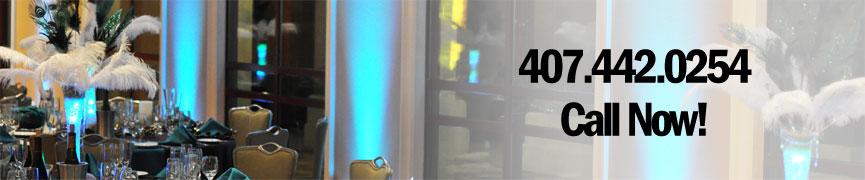 Orlando LED Up Lighting Rental